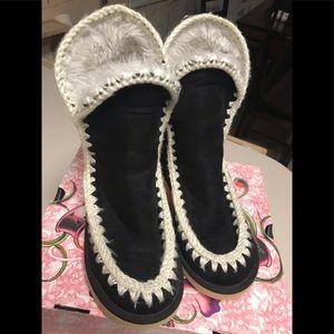 Ed Hardy Fur Boots